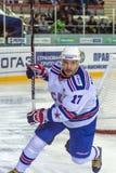 俄罗斯, 9月10日:Ilya Kovalchuk。 库存照片