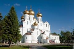 俄罗斯, Dormition大教堂,雅罗斯拉夫尔市 免版税库存照片