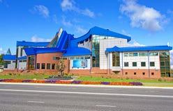 俄罗斯, Khanty-Mansiysk 油和煤气博物馆 库存图片