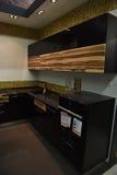 俄罗斯, StPetersburg, 22,07,2017厨房在家具sto的t 库存图片