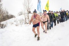 俄罗斯, Uglich, 2月07日 节日  库存图片
