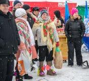 俄罗斯, Uglich, 2月07日 节日  库存照片