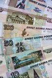 俄罗斯货币 库存照片