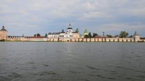 俄罗斯 西里尔Belozersky修道院 股票视频