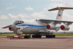 俄语伊尔-76 库存图片