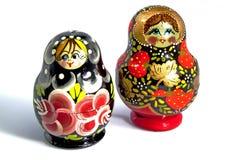 俄语的小雕象 库存照片