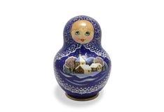 俄语的玩偶 免版税图库摄影