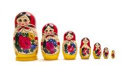俄语的玩偶 免版税库存图片