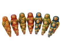俄语的秀丽 免版税库存图片