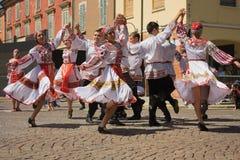 俄语的舞蹈演员 免版税库存照片
