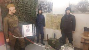 俄语Tankists 免版税库存图片