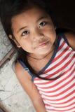 俏丽女孩菲律宾的纵向 库存图片