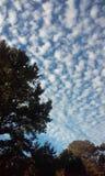 俏丽的天空 库存图片