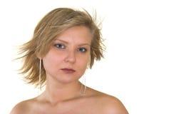 俏丽的妇女年轻人 免版税库存图片