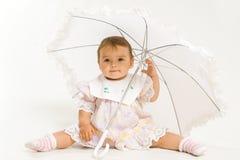 俏丽的婴孩 图库摄影