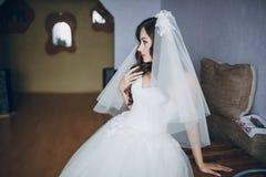 俏丽的新娘HD 库存照片