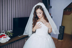 俏丽的新娘HD 库存图片