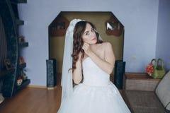 俏丽的新娘HD 免版税库存图片