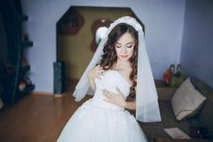 俏丽的新娘HD 免版税库存照片