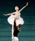 俏丽的芭蕾舞女演员 库存图片