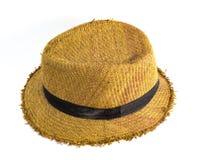 俏丽的草帽 免版税库存图片