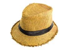 俏丽的草帽 库存图片