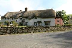 俏丽的Exmoor房子 免版税库存照片