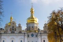 保佑的圣母玛丽亚的做法的大教堂或伟大的教会-基辅主要大教堂寺庙  库存图片