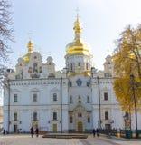 保佑的圣母玛丽亚的做法的大教堂或伟大的教会-基辅主要大教堂寺庙  图库摄影