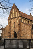 保佑的圣母玛丽亚的访问的教会 库存图片