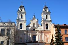 保佑的圣母玛丽亚的Archcathedral大教堂圣洁名字 库存照片