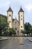 保佑的圣母玛丽亚,卑尔根,挪威的教会 库存照片