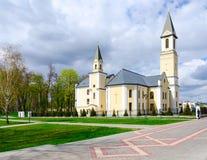 保佑的圣母玛丽亚,戈梅利,白俄罗斯诞生教会  库存图片