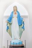 保佑的圣母玛丽亚 库存照片