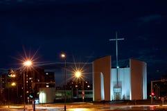 保佑的教会玛丽贞女 免版税图库摄影