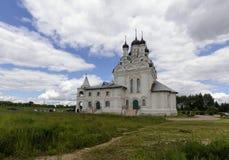 保佑的维尔京的通告的教会 库存照片
