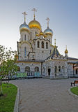保佑的维尔京大教堂的诞生构想的Conve 图库摄影