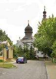 保佑的维尔京的诞生的教会在Wlodawa 波兰 图库摄影