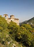 保加利亚修道院 图库摄影
