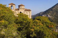 保加利亚修道院 免版税库存照片