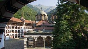 保加利亚修道院rila 免版税图库摄影