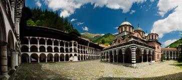保加利亚修道院rila 免版税库存图片