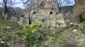 保加利亚十字架基督教上百年 库存照片