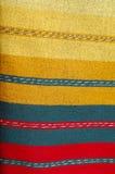 保加利亚地毯现有量做旧布 图库摄影