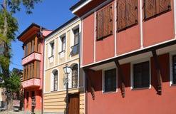 保加利亚复兴的建筑学 库存图片
