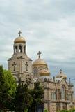 保加利亚大教堂瓦尔纳 免版税库存照片