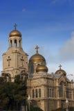 保加利亚大教堂瓦尔纳 库存图片