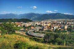 保加利亚小市的dupnica 库存图片