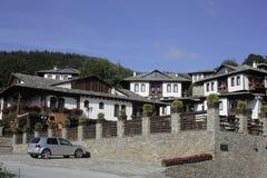 保加利亚山区度假村 免版税库存照片