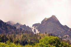 保加利亚山rila 库存照片